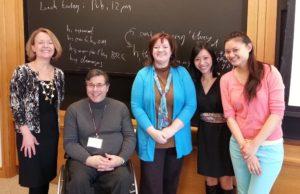 L-R: Susan Lang, Michael Stein, Julie McCormack, Tiffany Yu, and Elisa Dun.