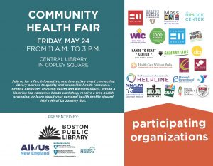 Community Health Fair Flyer
