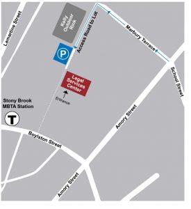 lsc parking map