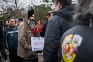 Man at vigil for taxi driver suicides